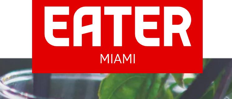 Eater Miami logo.