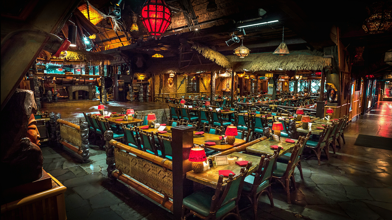 A view of the majestic dinner and show rooms at the Mai-Kai.