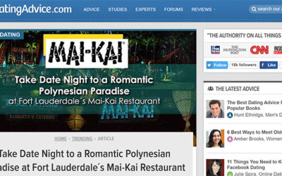 Take Date Night to a Romantic Polynesian Paradise at Fort Lauderdale's Mai-Kai Restaurant
