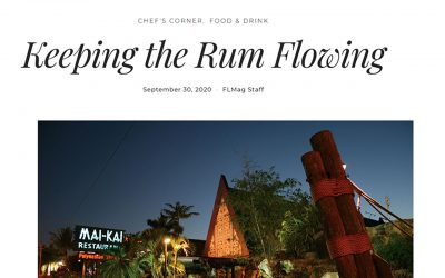 Fort Lauderdale Magazine: Keeping the Rum Flowing