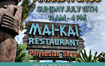 TIKI MARKETPLACE SUNDAY JULY 18 FROM 11 AM – 4 PM AT THE MAI-KAI